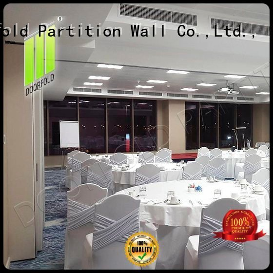 sliding folding partition walls divider operable OEM sliding folding partition Doorfold movable partition