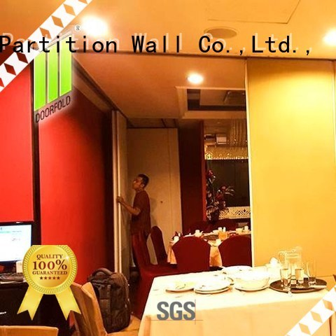 Doorfold movable partition Brand commercial hot selling plaza commercial room dividers