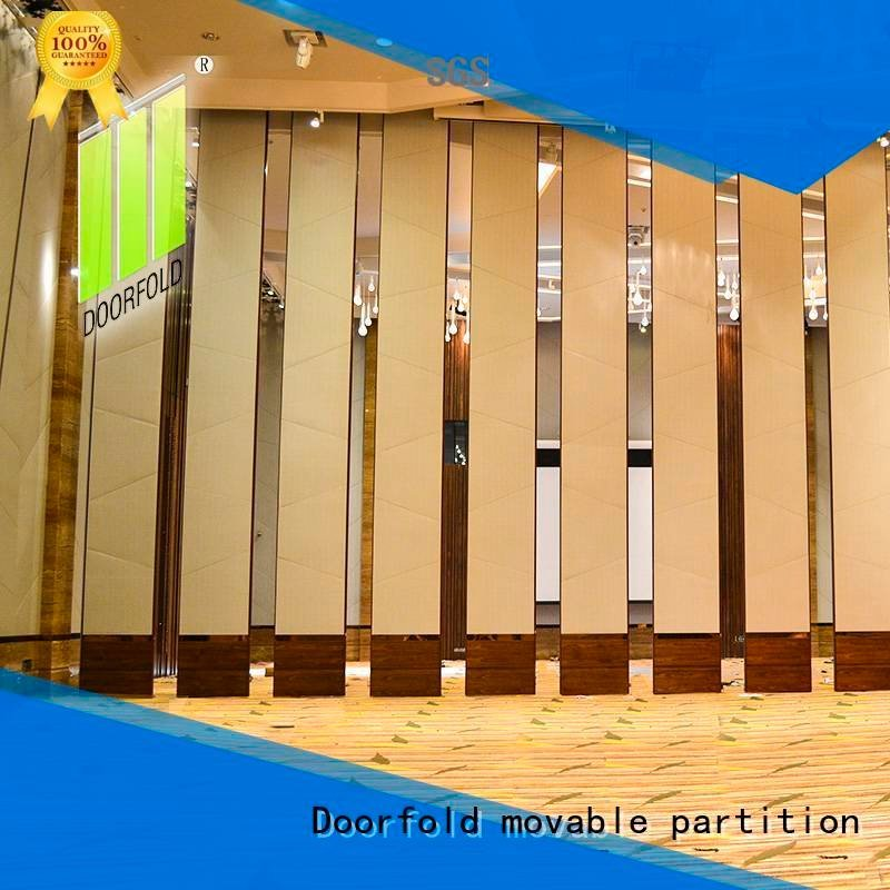 Doorfold movable partition operable sliding folding partition wall acoustic