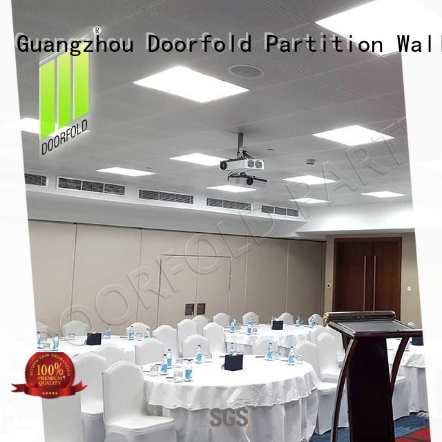 Doorfold inexpensive room divider customization for expo center
