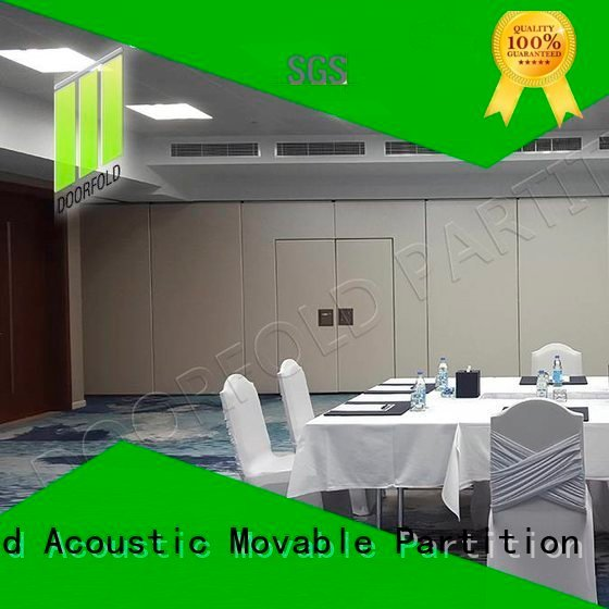 sliding folding partition walls collapsible room sliding folding partition Doorfold movable partition Brand