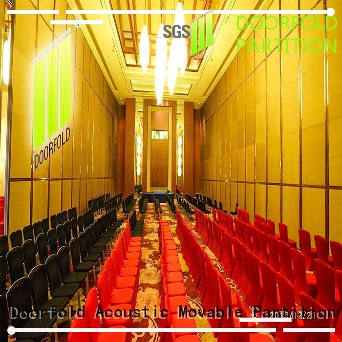Doorfold movable partition Brand folding partition movable partition wall singapore movable