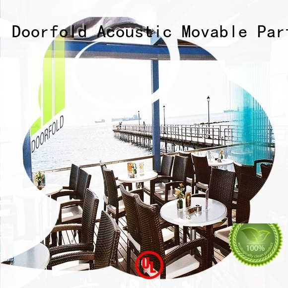 Doorfold commercial portable partition inquire for restaurant
