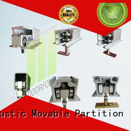 Doorfold movable partition accessories restroom partition hardware partition partition