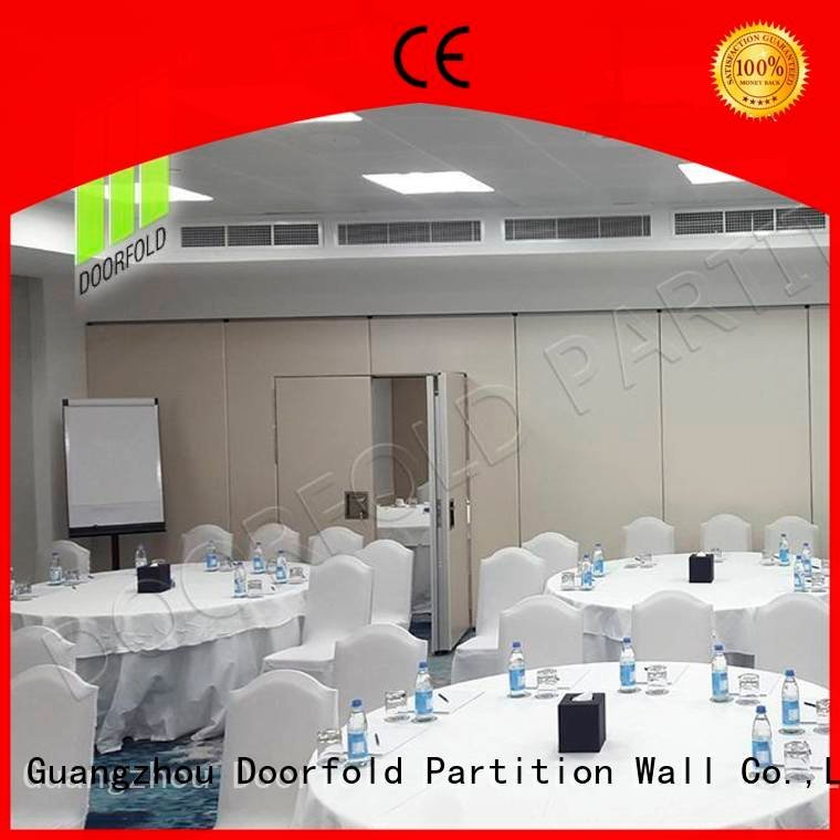 Doorfold movable partition soundproof folding walls sound proof soundproof