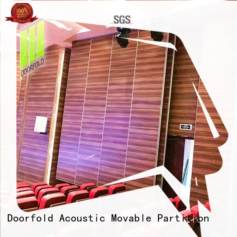 Doorfold movable room dividers free delivery for theater